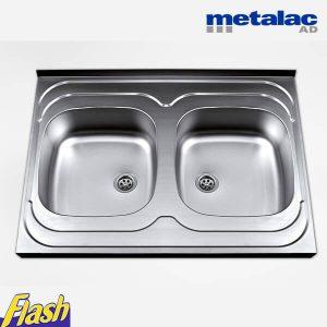 Metalac sudopera nasadna dvodelna