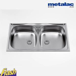 Metalac sudopera usadna dvodelna
