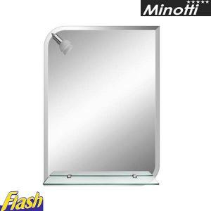 Minotti ogledalo sa svetlom i policom FH307