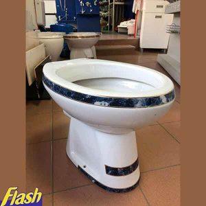 WC šolja baltik Zlatni Friz tamno plava