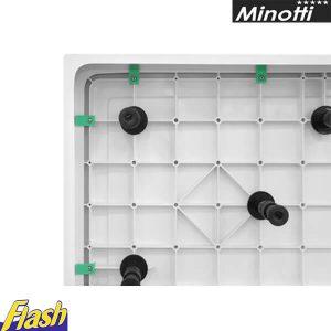 Oplata za SOLILUX kvadratnu kadicu i set nogica - Minotti