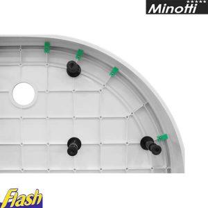 Oplata za SOLILUX polukružnu kadicu i set nogica - Minotti