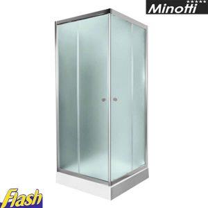 Tuš paravan kvadratni 80x80cm - (bez kadice) - Minotti - JL4180